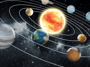 solar-system-with-eight-planets-elements-of-this-image-furnished-by-nasa