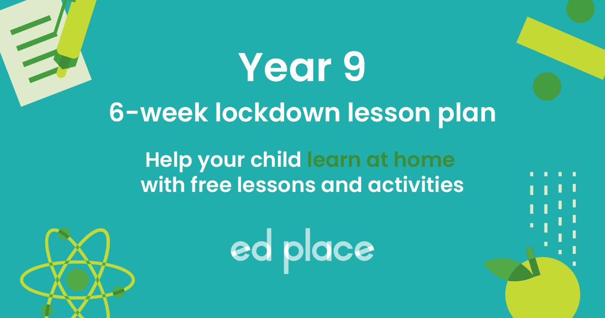 Year 9 learning plan