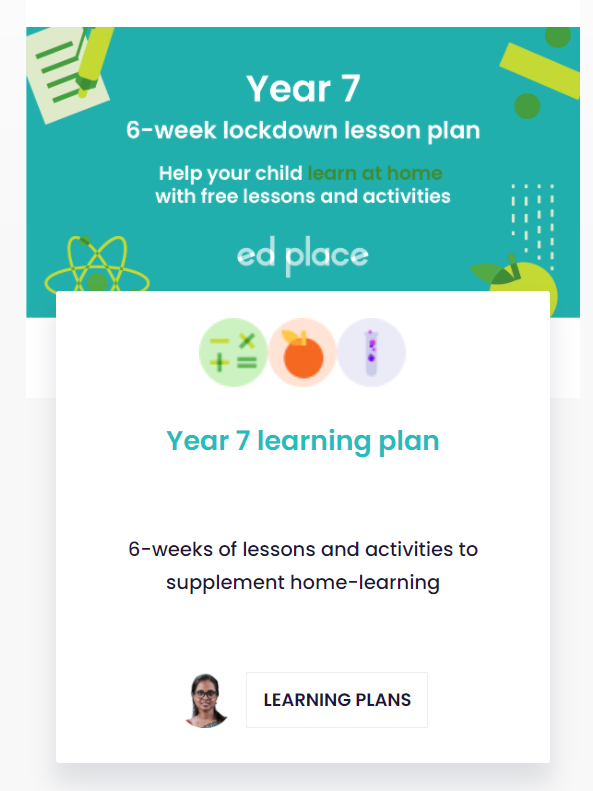 Example Learning Plan Image
